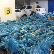 Doações ajudam moradores das 25 áreas da comunidade. Foto: Divulgação / Prefeitura do Rio