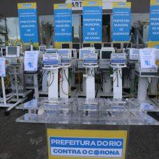 Nove cidades, além do governo do Estado, já receberam equipamentos cedidos por Crivella para ajudar no combate à pandemia do novo coronavírus. Foto: Marcos de Paula / Prefeitura do Rio