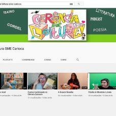 Sala de Leitura Virtual terá live com escritores e novos conteúdos para estudantes. Foto: Divulgação / Prefeitura do Rio