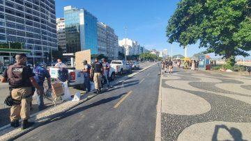 Balanço do feriado: Prefeitura encerra evento em Barra de Guaratiba e registra 19 infrações sanitárias