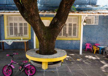 Prefeitura oferece assistência social a crianças no Espaço Cazuza